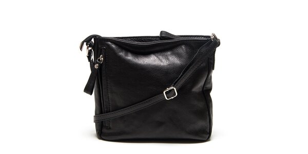 Dámska čierna taška cez rameno Roberta Minelli
