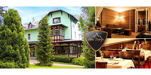 Historický Hotel Tatry*** v Tatranskej Lomnici
