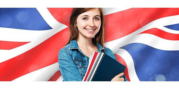 5 týždňové kurzy konverzácie v angličtine