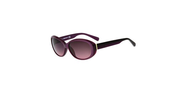 Dámske fialové plastové slnečné okuliare Miss Sixty
