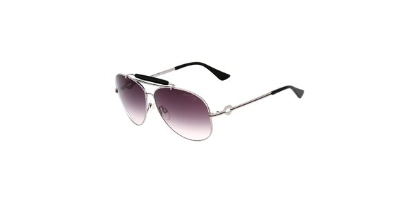Dámske aviator slnečné okuliare s čiernymi detailmi Miss Sixty
