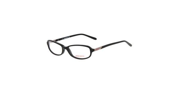 Dámske čierne oválne okuliare Miss Sixty