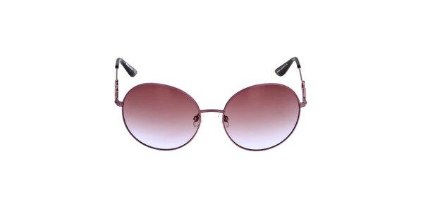 Dámske ružovofialové slnečné okuliare s gradientným efektom Miss Sixty