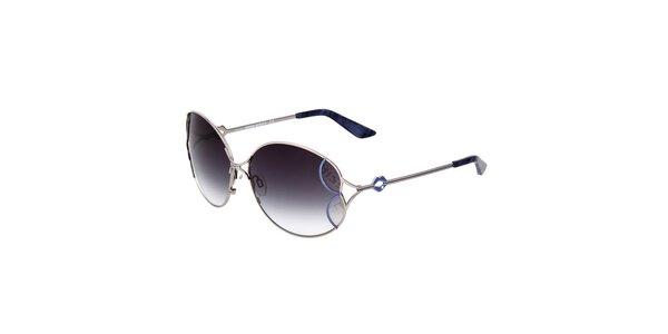 Dámske slnečné okuliare s modrými šošovkami s gradientným efektom Miss Sixty