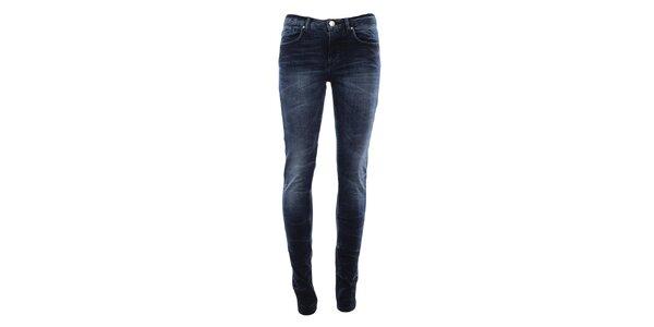 Dámske tmavo modré džínsy Fuga