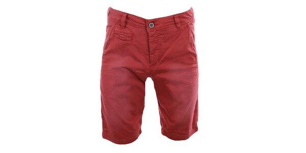 Pánske červené kraťasy Fuga