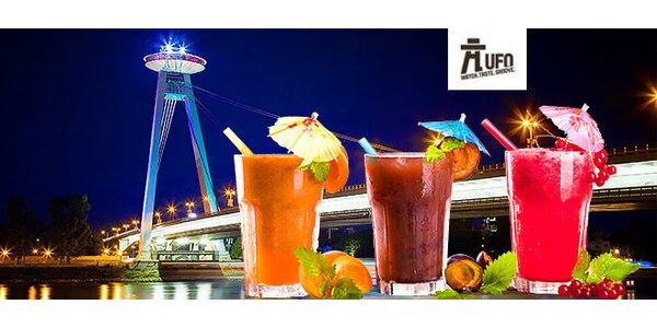 Vyhliadka UFO a skvelé drinky