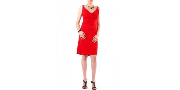 Dámske červené šaty Fifilles se Paris