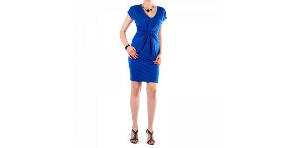 Dámske žiarivo modré šaty Fifilles se Paris