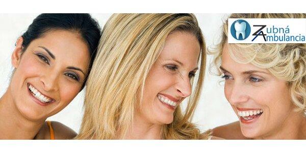 Dentálna hygiena – predídete zbytočným zdravotným problémom