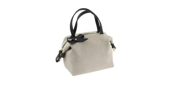 Dámska čierno-biela kabelka Valentina Italy