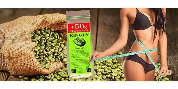 Zelená káva na podporu chudnutia