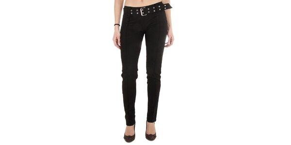 Dámske čierne upnuté nohavice Miss Sixty