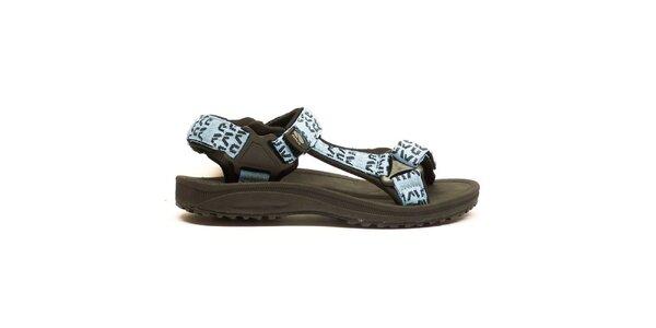 Dámske športové sandále modré Numero Uno