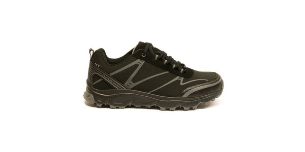 Dámske čierne trekové topánky Numero Uno