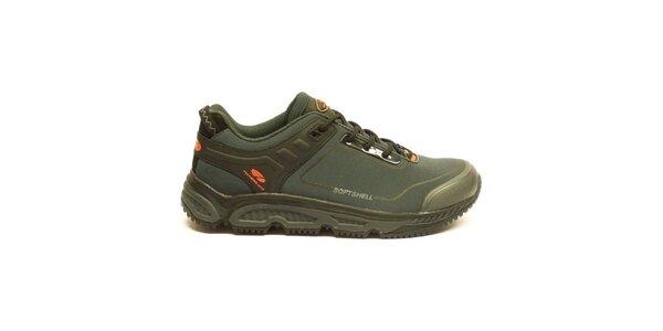 Pánske tmavé trekové členkové topánky Numero Uno