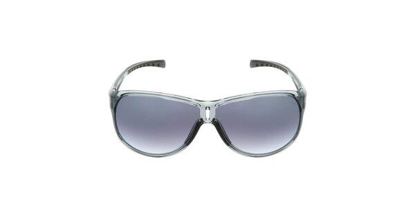 Šedé plastové slnečné okuliare s gradientnými sklami Red Bull