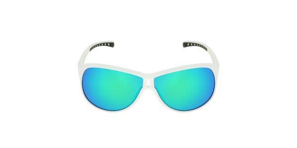 Biele slnečné okuliare s farebnými sklami Red Bull