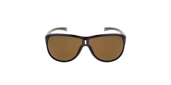 Hnedé slnečné okuliare s hnedými sklami Red Bull