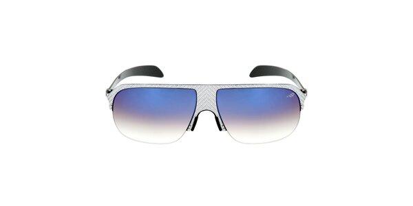 Kovové slnečné okuliare s modrými gradientnými sklíčkami Red Bull