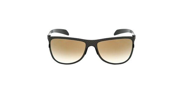 Čierne karbónové slnečné okuliare Red Bull