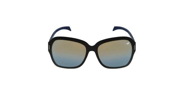Dámske čierne karbónové slnečné okuliare Red Bull