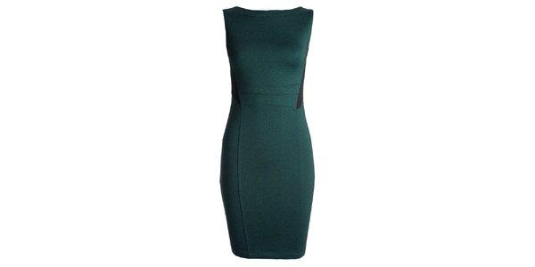 Dámske zelené púzdrové šaty JDC London
