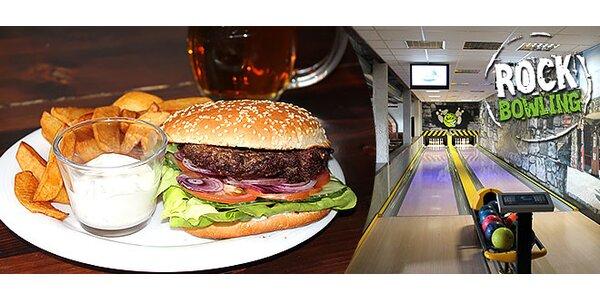 Bowling s pivom alebo aj burger