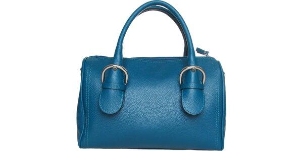 Dámska modrá kabelka Made in Italia