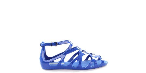 Dámske modré sandále Melissa