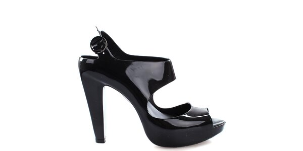 Dámske čierne sandále Melissa