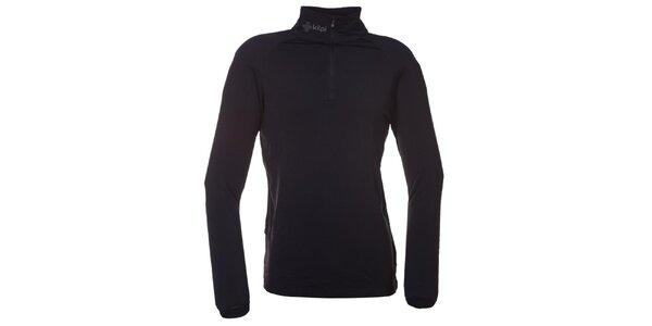 Pánske čierne termo tričko Kilpi