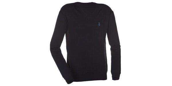 Pánsky tmavo modrý sveter Kilpi