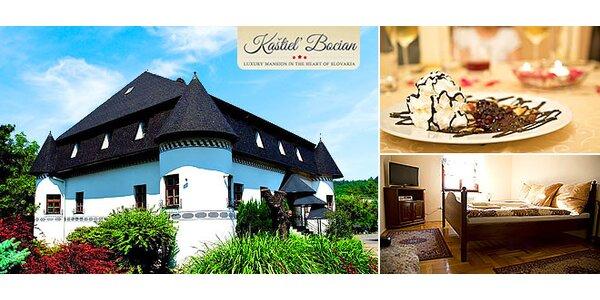 Romantický pobyt v Kaštieli Bocian