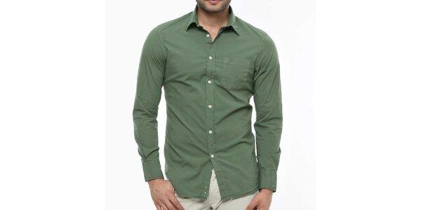 Pánska zelená košeľa Nautica