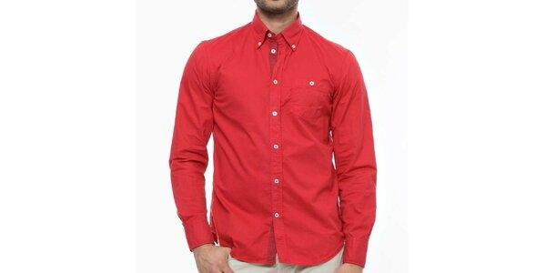 Pánska červená košeľa Nautica