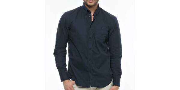 Pánska tmavo modrá košeľa Nautica