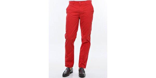 Pánske červené chino nohavice Nautica