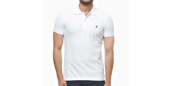 Pánske biele polo tričko Nautica