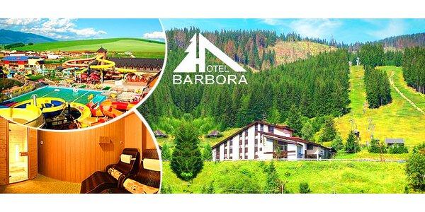 Hotel Barbora*** a celodenný vstup do Tatralandie