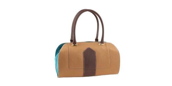 Dámska trojfarebná kufríková kabelka Valentina Italy