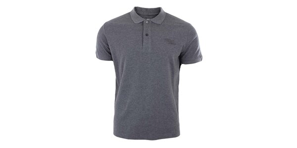 Pánske šedé polo tričko Timeout