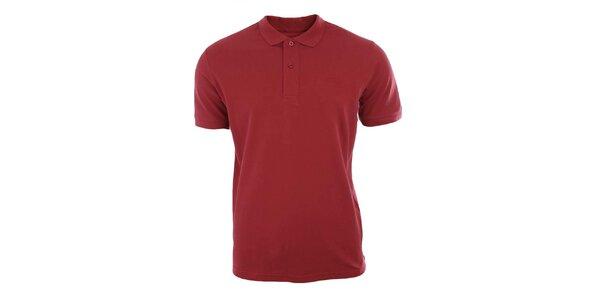 Pánske červené polo tričko Timeout