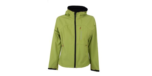 Dámska zelená softshellová bunda Trimm Berga