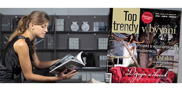 Top Trendy v Bývaní 2012