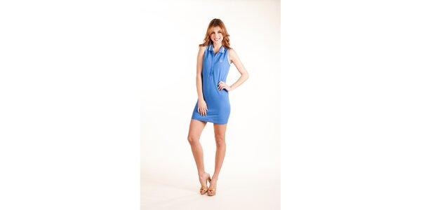 Dámske svetlo modré plážové šaty Gianfranco Ferré
