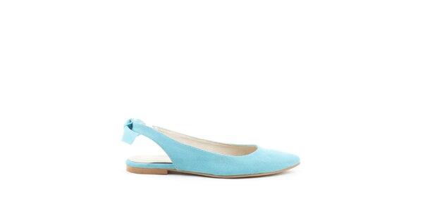 Dámske tyrkysové topánočky MISU