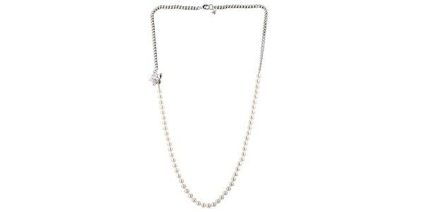 Dámsky perlový náhrdelník Guess
