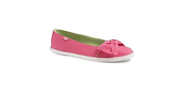 Dámske ružové balerínky Keds