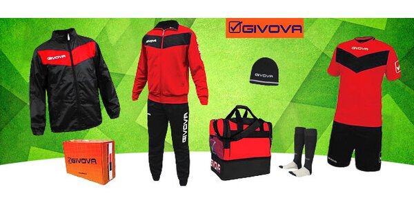 6-dielny športový set značky GIVOVA
